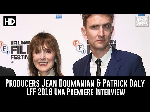 Producers Jean Doumanian & Patrick Daly LFF Premiere Interview - Una