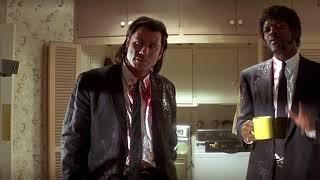 Квентин Тарантино встречает гостей I Криминальное чтиво