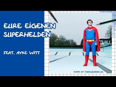 Comics zeichnen mit Tobi Wagner – SUPERHELDEN feat. Ayke Witt :-)