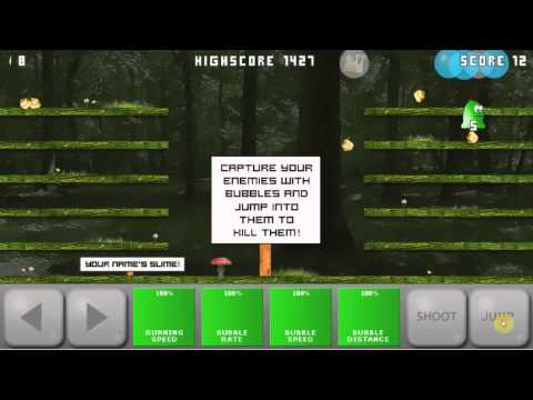 Slime and Bubbles trailer. New Android game.