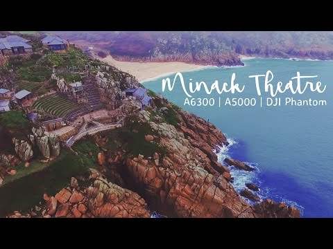 Cornwall's AMAZING Minack Theatre | A6300 | S-Log3