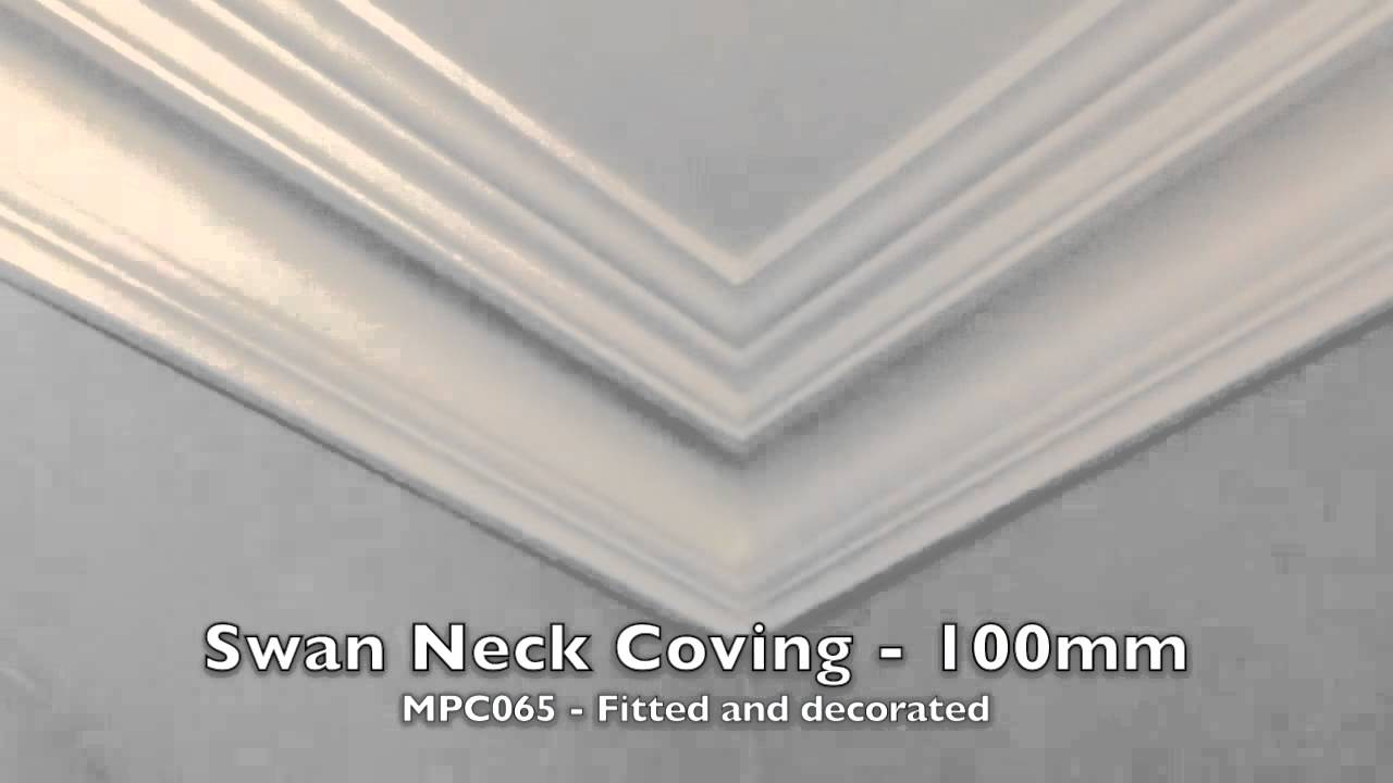 Swan Neck Coving Mpc065 Plaster Ceiling Roses