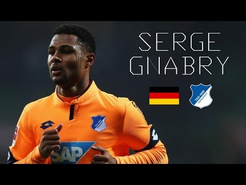 SERGE GNABRY - Insane Skills, Goals, Runs, Assists - TSG Hoffenheim - 2017/2018
