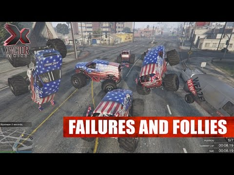 Failures and Follies - Grand Theft Auto V Racing