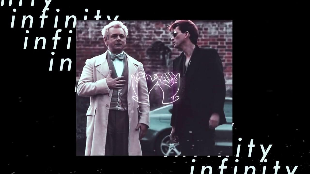 infinity | aziraphale × crowley | good omens edit
