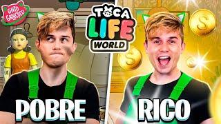 VIDA DE RICO VS POBRE NO TOCA LIFE WORLD !!! | Gato Galactico