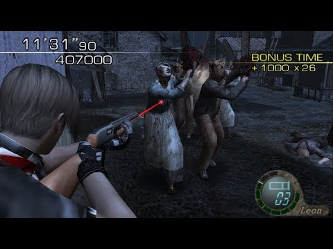 Resident Evil 4 - Weapon Madness (Modding Combination) HQ