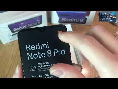 Redmi Note 8 Pro распаковка