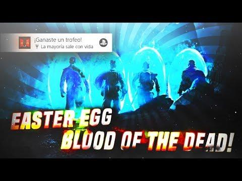 BLOOD OF THE DEAD EASTER EGG CINEMÁTICA CASERA ( ͡° ͜ʖ ͡°) EN EXTREMO | BLACK OPS 4 ZOMBIES