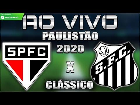 São Paulo x Santos Ao Vivo | SANSÃO | Paulistão 2020 | 10ª Rodada | Narração