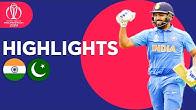 Rohit Sharma Hits 140! | India v Pakistan - Match Highlights | ICC Cricket World Cup 2019