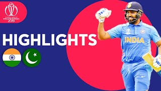 Rohit Sharma Hits 140! | India v Pakistan - Match Highlights | ICC Cricket World Cup 2019