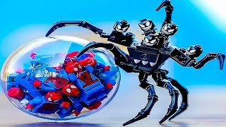 LEGO SPIDER-MAN VS VENOM ⚫️ SPIDERMAN INTO THE SPIDER-VERSE