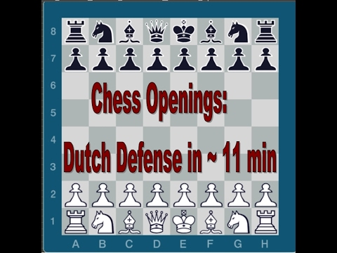 Chess Openings | The Dutch Defense in ~ 11 min