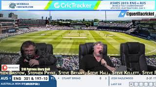 Men's Ashes 2019: ENG v AUS, 4th Test, Old Trafford - Day 5