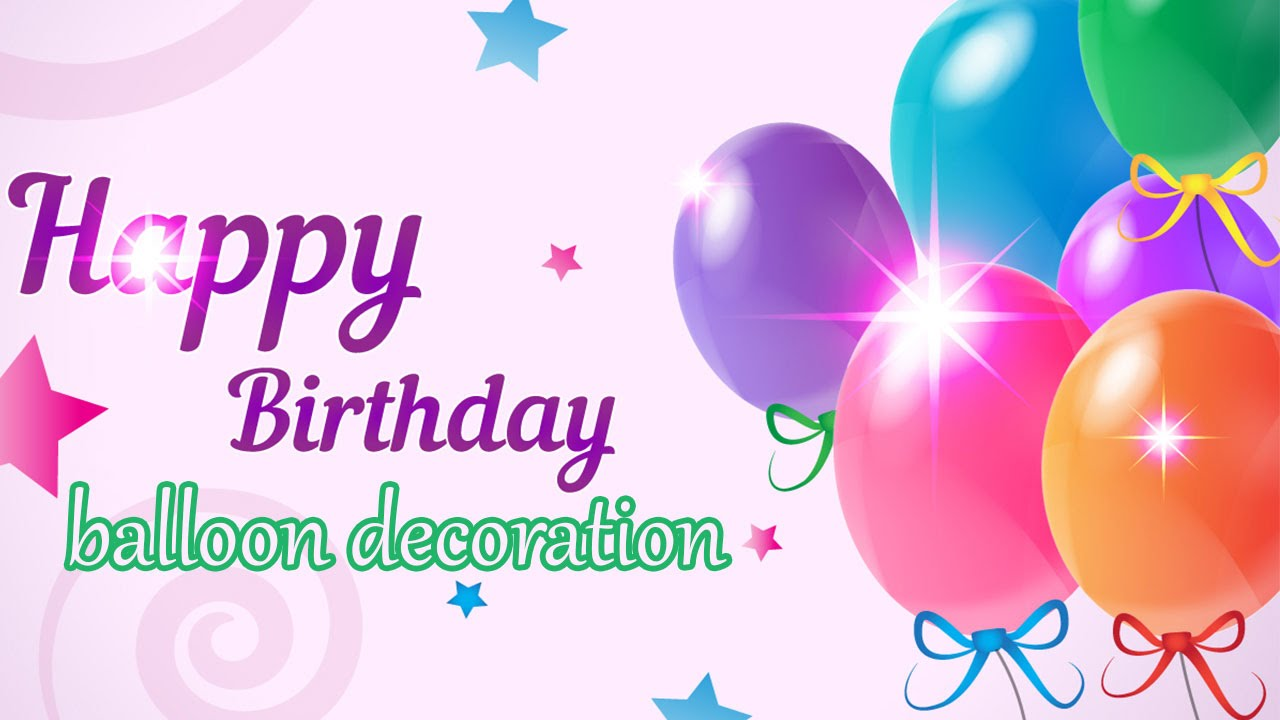 Home Decoration Ideas Birthday