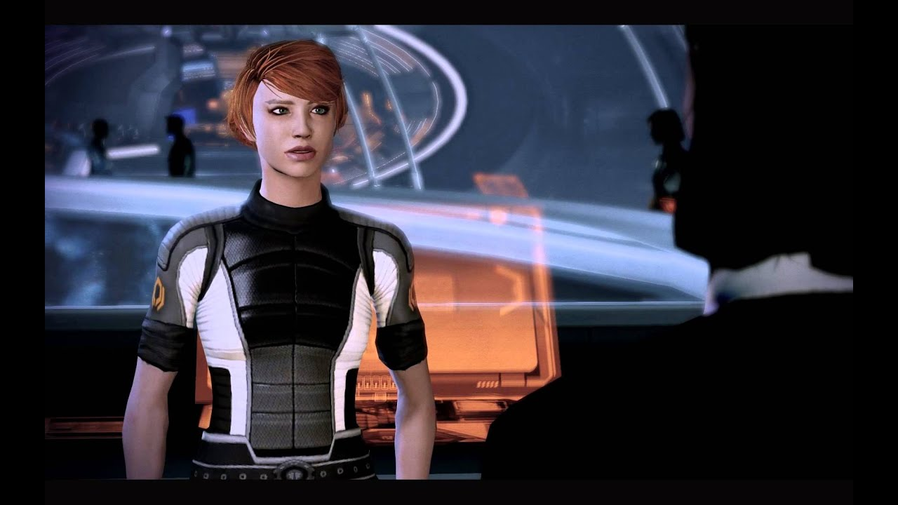 ME2 Kelly Chambers And Renegade FemShep