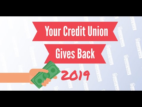 Your Credit Union Gives Back 2019