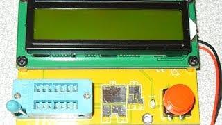 ESR измеритель. Покупка на ебей. Распаковка. Обзор(Заказал себе тестер на ебей из китая. Заказал, так как он имеет возможность измерять ESR(ЭПС) конденсатора...., 2014-02-23T09:35:17.000Z)