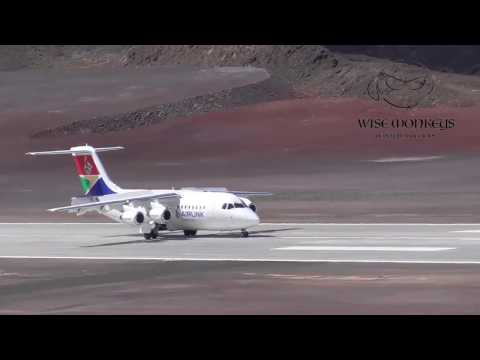 St Helena Airport receives it's first commercial passengers.