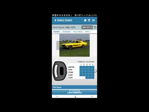 The Best Car Locksmith App Yet For Car Keys & Info & Products