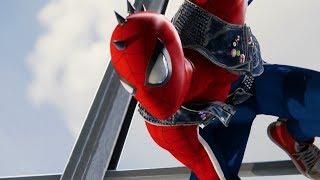 Spider-Man vs Wilson Fisk (Spider-Punk Suit Gameplay) - Marvel
