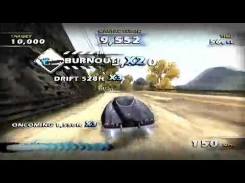 Burnout Dominator PSP Trailer + Download(ISO)