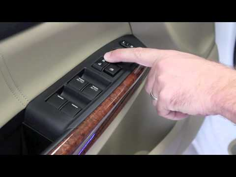 Honda Auto Door Lock Feature Youtube