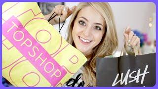 Topshop Try-On & Festive Lush HAUL! Thumbnail