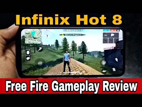 Infinix Hot 8 Free Fire Gaming Review | Maska Performance Of Free Fire Gameplay 😎