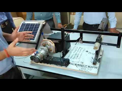 Solar Powered Hacksaw Mechanical Engineering Final Year Project