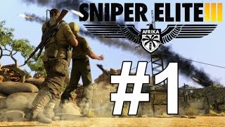 x1spacemonky1x Sniper Elite 3 Walkthrough Part 1 Mission 1 Dutch