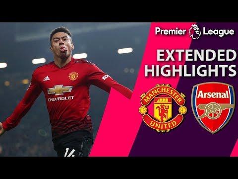 Man United v. Arsenal I PREMIER LEAGUE EXTENDED HIGHLIGHTS I 12/5/18 I NBC Sports