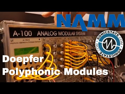 NAMM 2018: Doepfer Polyphonic Eurorack Modules and Dark Energy 3 Mp3