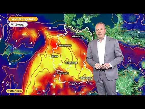 Wie wird das Wetter? Die aktuelle wetter.com 3-Tages Vorhersage (19.07.2017)