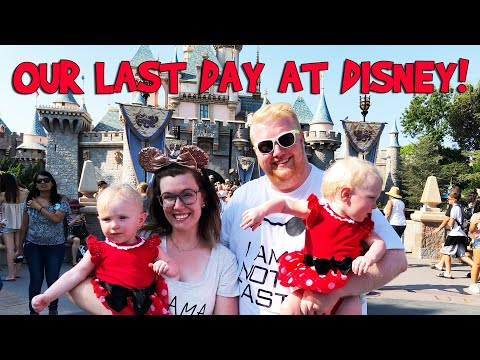 OUR LAST DAY AT DISNEYLAND! // Day 3 (Day 597)