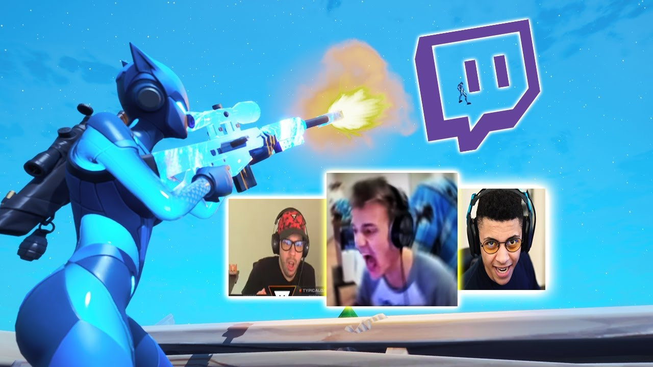 Killing Twitch Streaming with Only A SNIPER (Funny Reactions)