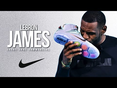 Thumbnail: LeBron James EVERY Shoe Commercial (2003-2017) ᴴᴰ