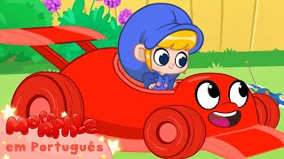 Мой Волшебный Питомец Морфл│Морфл Гоначная Машина│ мультфильмы для детей│Сказки