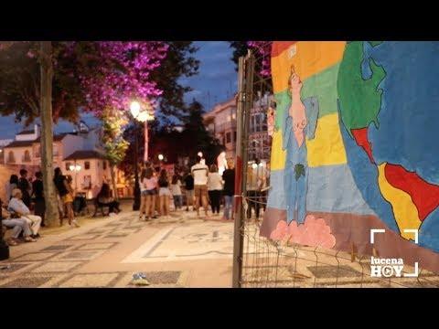 VÍDEO: Un concierto de rap y una exposición cierran los actos del Día del Orgullo LGTBI en Lucena
