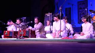 Nayna milake mose nayna milake ( Part- I ) by Warsi Brothers at sukoon 2015 University of hyderabad