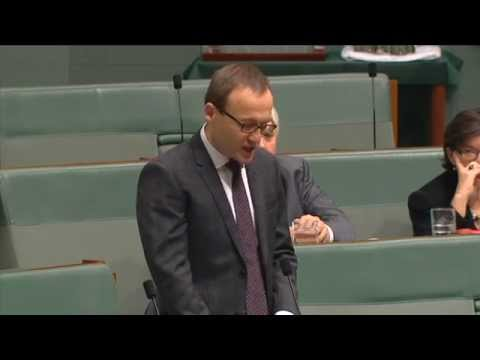 Adam's question to Tony Abbott on an emissions trading scheme
