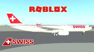 [ROBLOX] Swiss Int'l Airlines | Airbus A330 Business Class