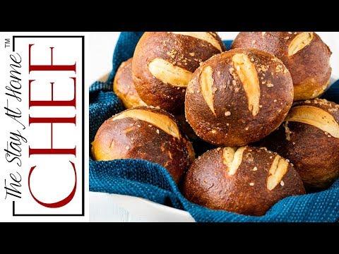 How to Make Homemade Pretzel Rolls