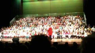 Kids for Kids concert with Suzanne Prentice - Fly Me To The Moon.