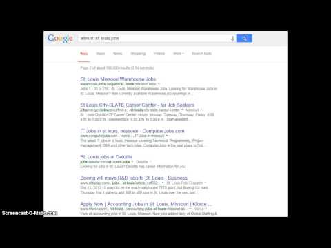 Find A Job Online With Google Search Operators!