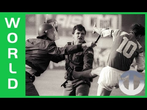 1990 Dinamo Zagreb - Red Star Belgrade Riot | The Football W