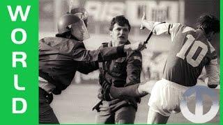 1990 Dinamo Zagreb - Red Star Belgrade Riot | The Football War