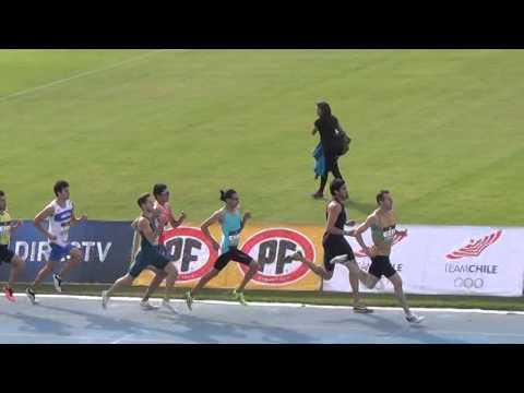 800 metros planos Grand Prix Sudamericano Orlando Guaita
