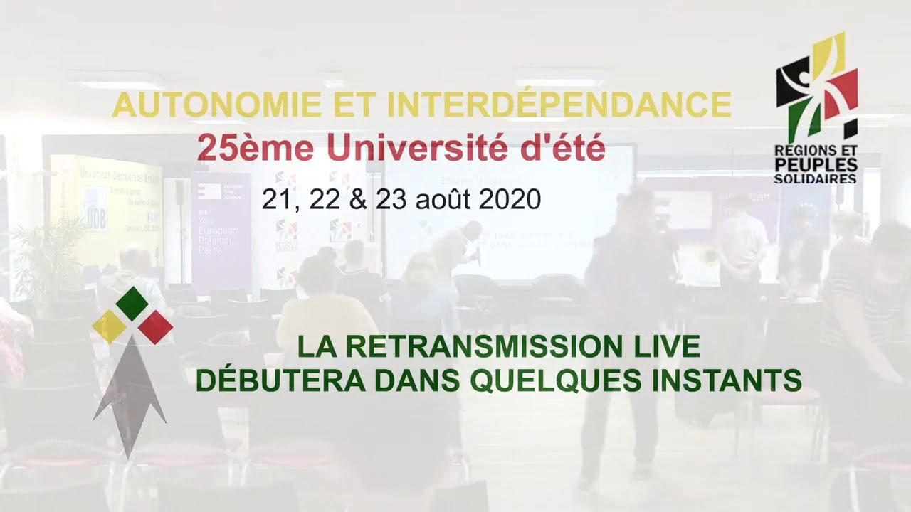 XXV Summer University of Régions et Peuples Solidaires